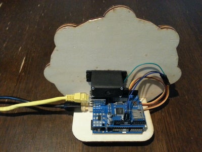 Laser-cutting and Assembling the IoT Gauge