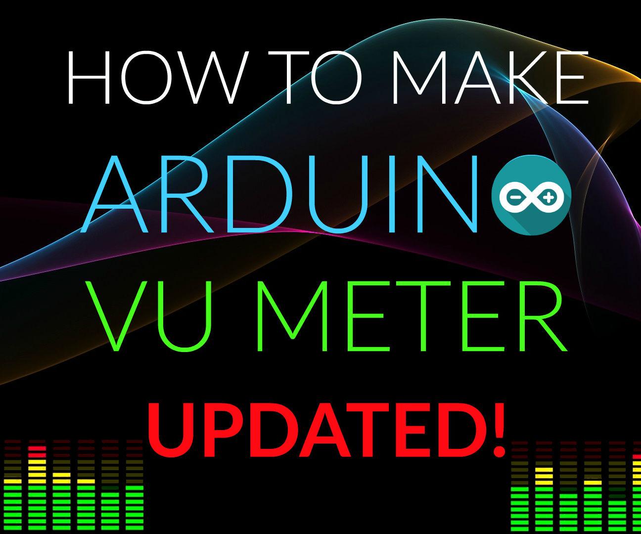 How to make Arduino VU Meter ( LED Logo)
