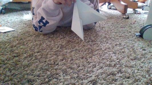 Step 6: Fold Half Down