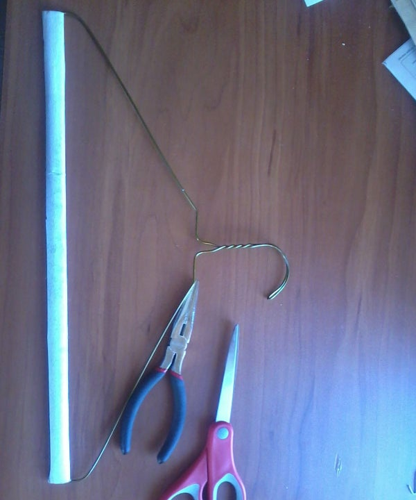 Clothes Hanger Fishing Hook
