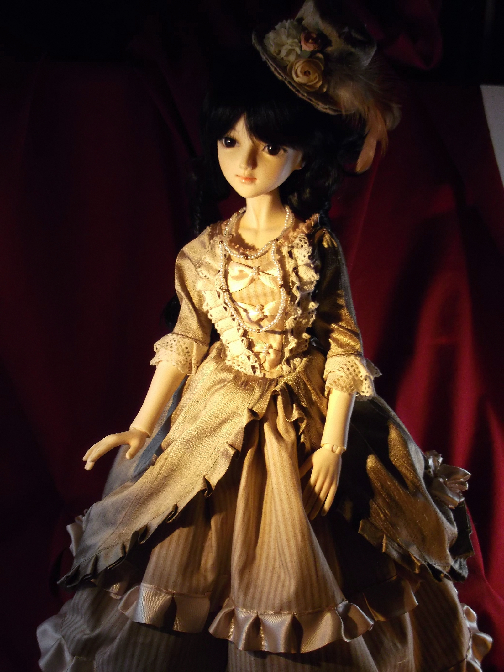 Dollheart-esque Fullset Dress Outfit for Ball Jointed Doll (BJD)