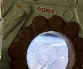 Spaceship Porthole Window