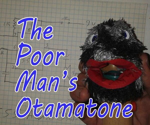 The Poor Man's Otamatone
