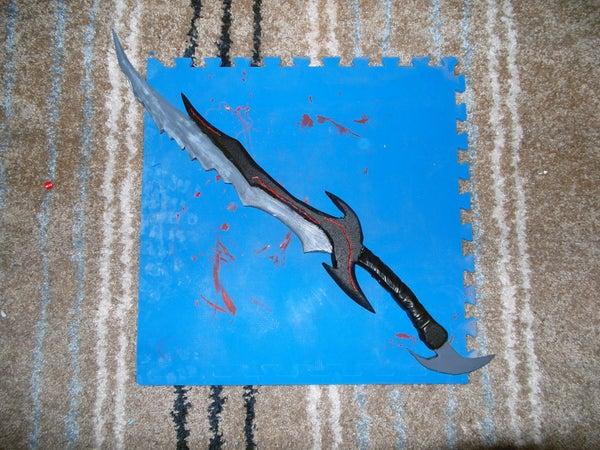 Skyrim: Daedric Sword.