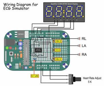 Menta ECG Simulator Wiring Diagram