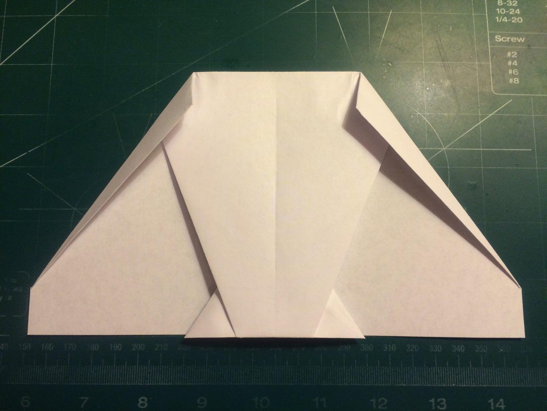 Canard and Nose Folding