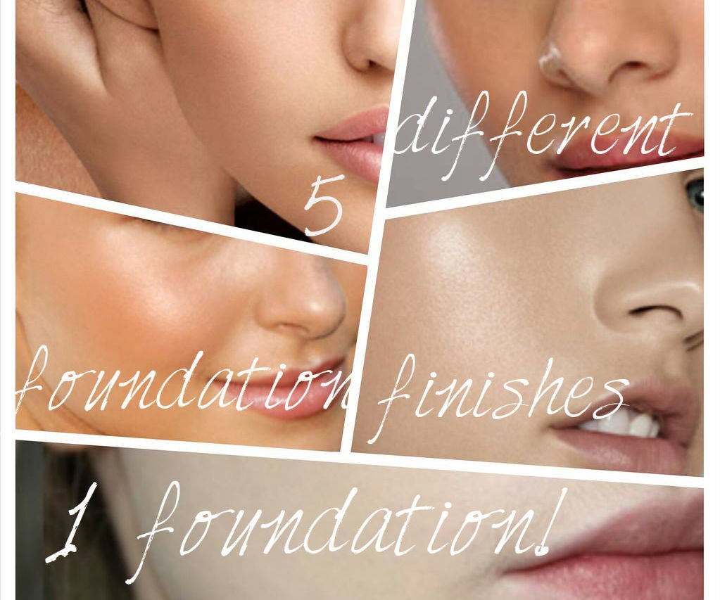 5 Different Foundation Finishes 1 Foundation 5 Steps Instructables
