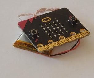 Micro:bit TrackingThings Heat Alarm