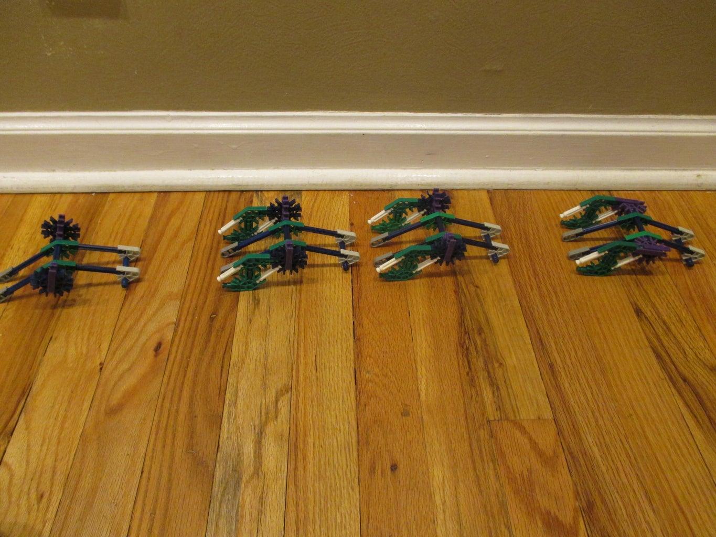 Blue-Green Ball Arm Stairs