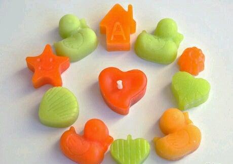 Mini Wax Statues , Toys , Fun Candles