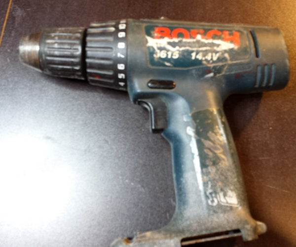 Cordless Drill With External SLA Battery