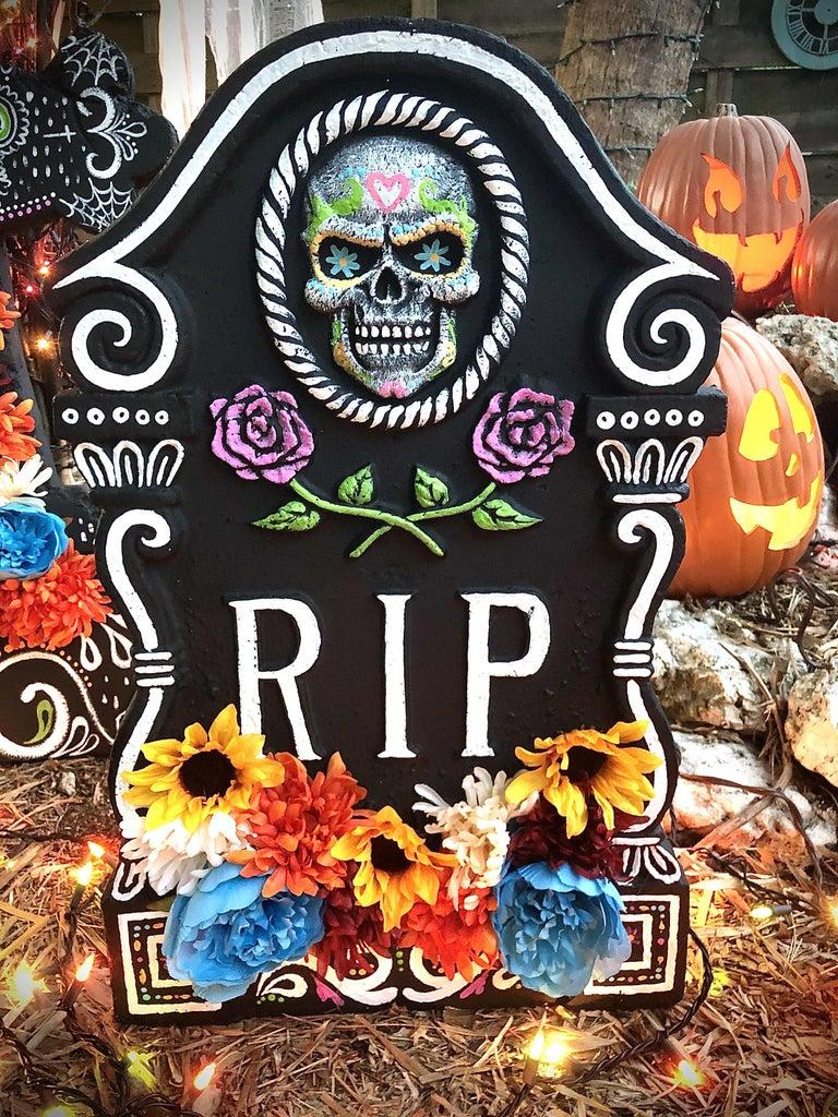 Day of the Dead Gravestones