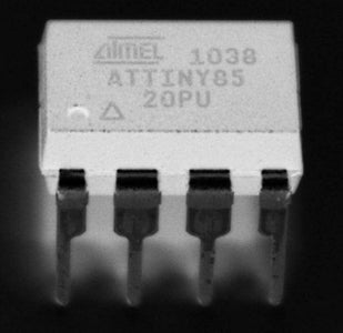 Spooky Code & Programming the AtTiny85 (45) With the Arduino IDE