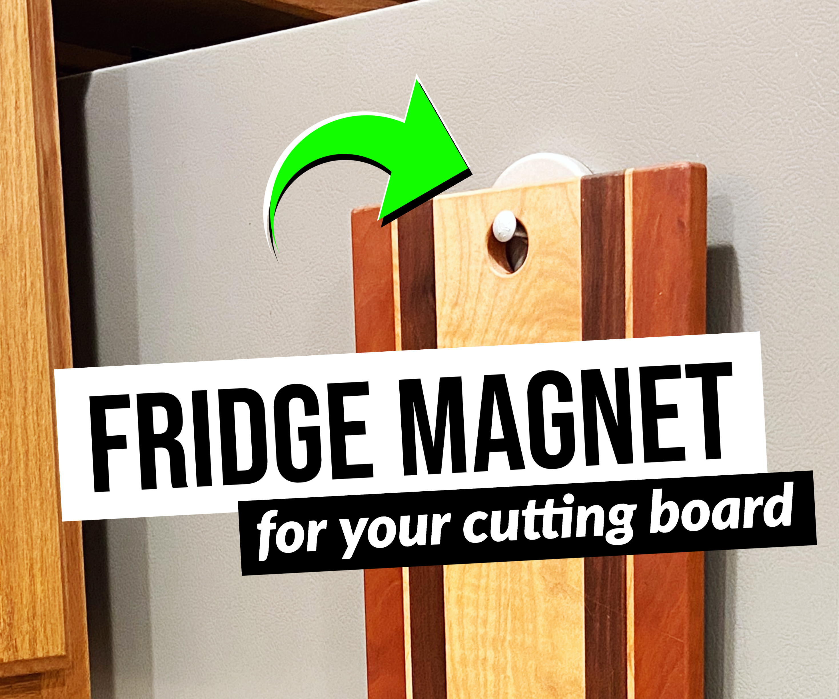 Fridge Magnet for Cutting Boards