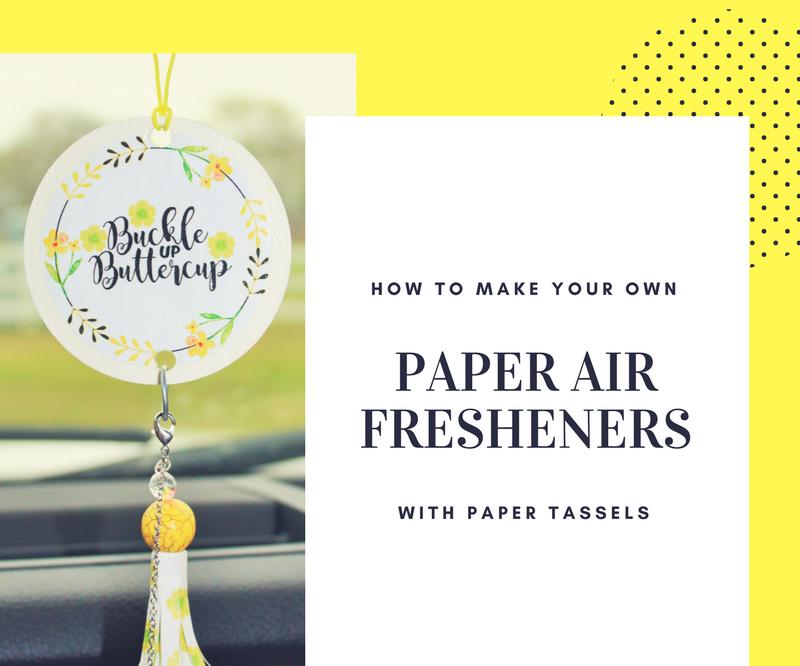 DIY Paper Air Fresheners