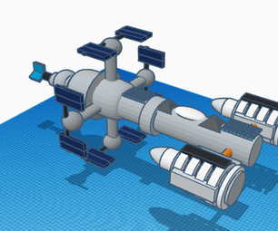 Space Ship (connectors)