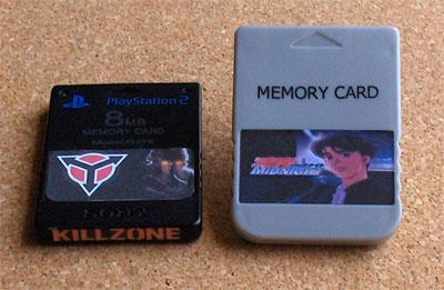 PlayStation Memory Card Labels