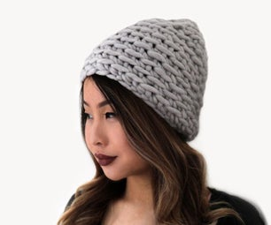 Easy to Crochet Ribbed Hat Pattern