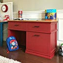 DIY Wooden Kids Desk With Drawers
