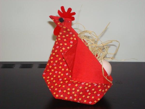 Origami Abundance Hen