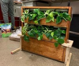 Self-sustaining Plant Wall
