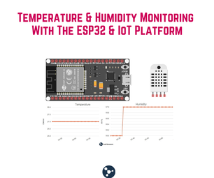 Room Temperature & Humidity Monitoring With the ESP32 and AskSensors Cloud
