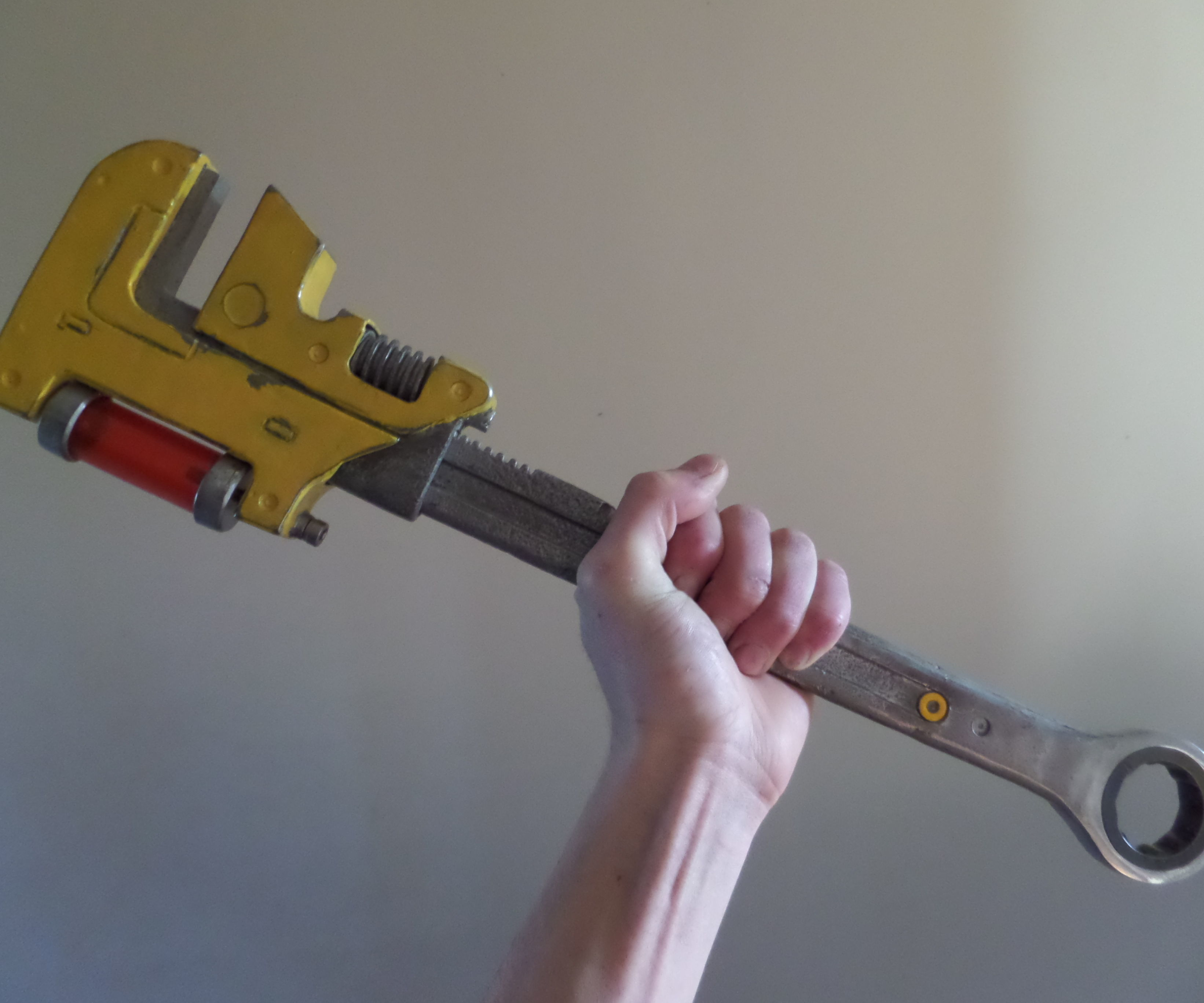"""Destiny's """"Space Wrench"""" From Reclaimed Vintage Spanner"""