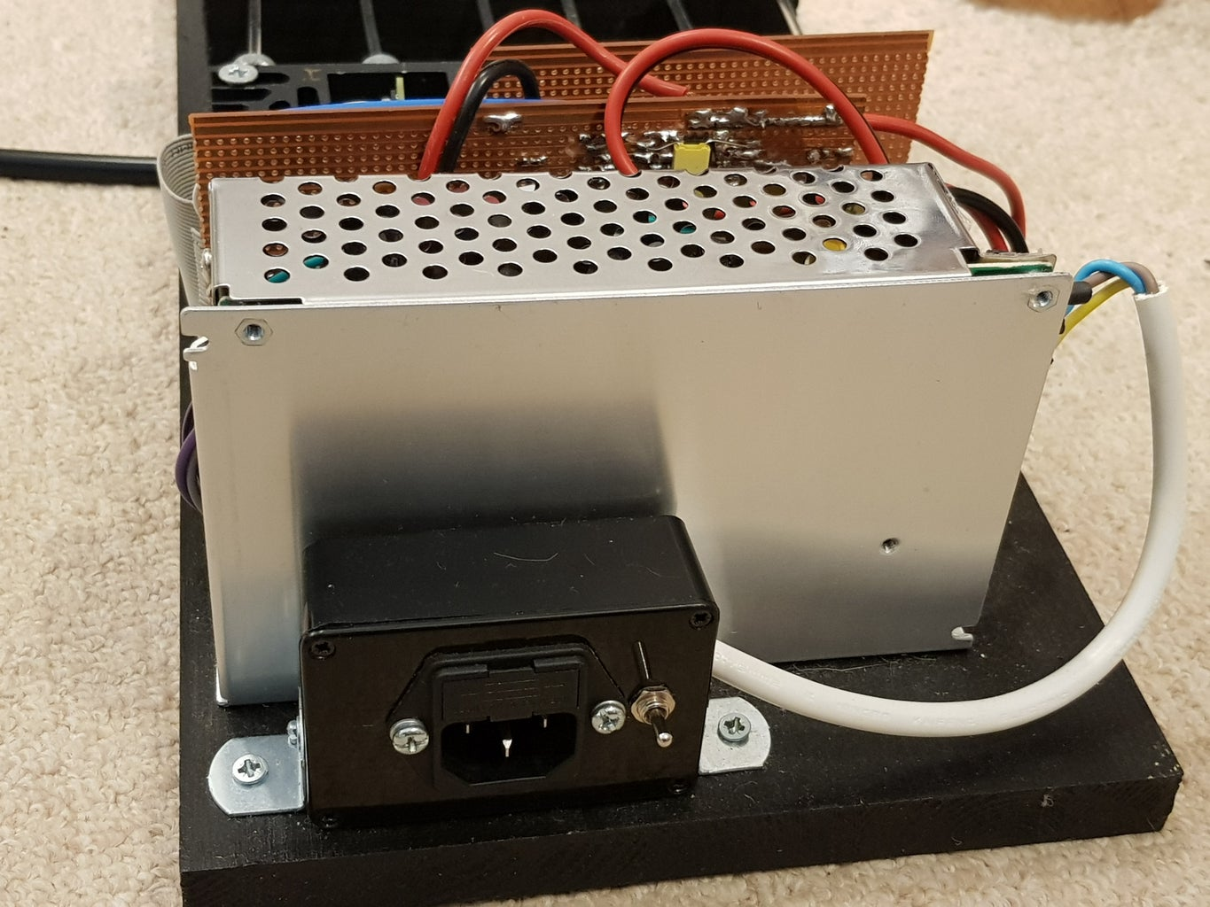 Parts Required - Baseboard, Power, Controller and LED Assembly