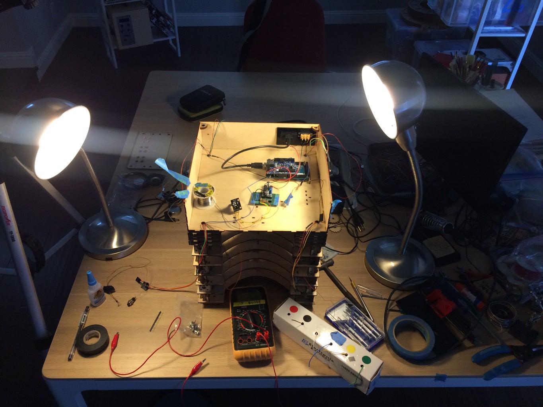 Base Assembly (Layers 10-15)