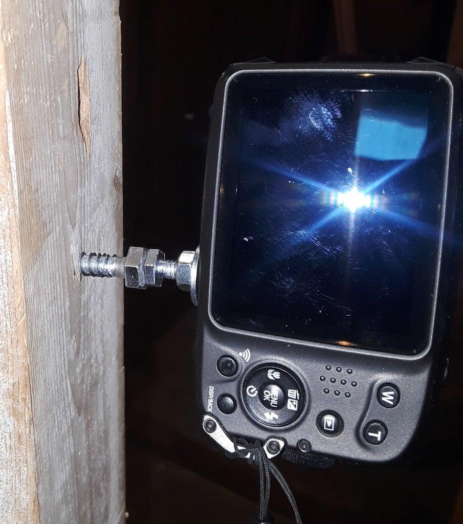Semi-Permanent Camera Mount (or Even Temporary.)
