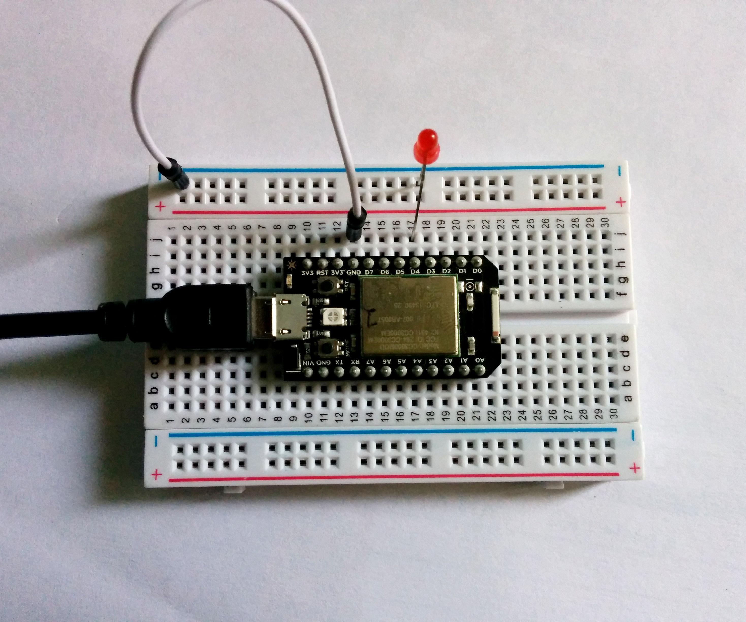 Spark Core -101- Blinking LEDs