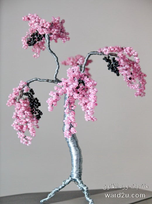 Wire and Bead Tree