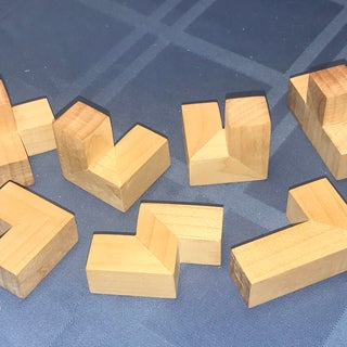 Make a Wooden Soma Cube