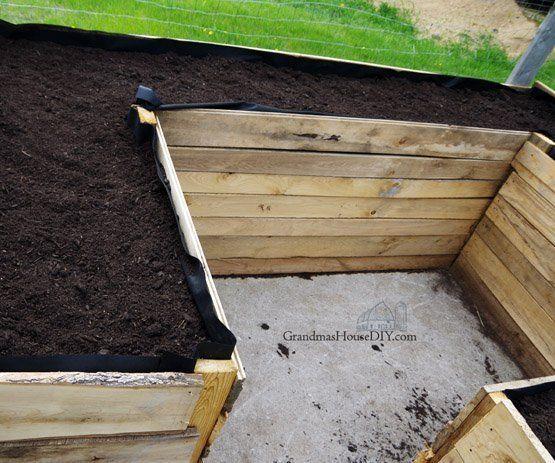 Raised Beds in My Garden – Building With Oak