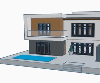 Modern House (TinkerCad)