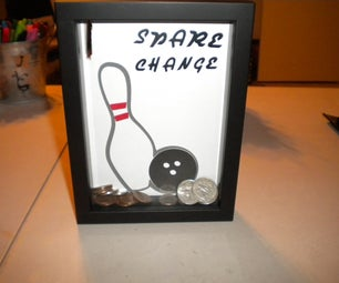 Bank Made From Shadow Box