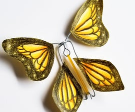 Wind-Up Paper ButterFLY