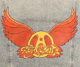 Hand-painted Band Denim Jacket
