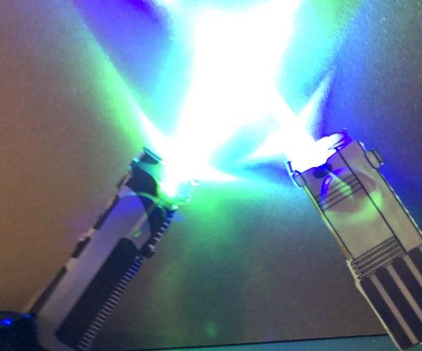 Mini Lightsaber Challenge