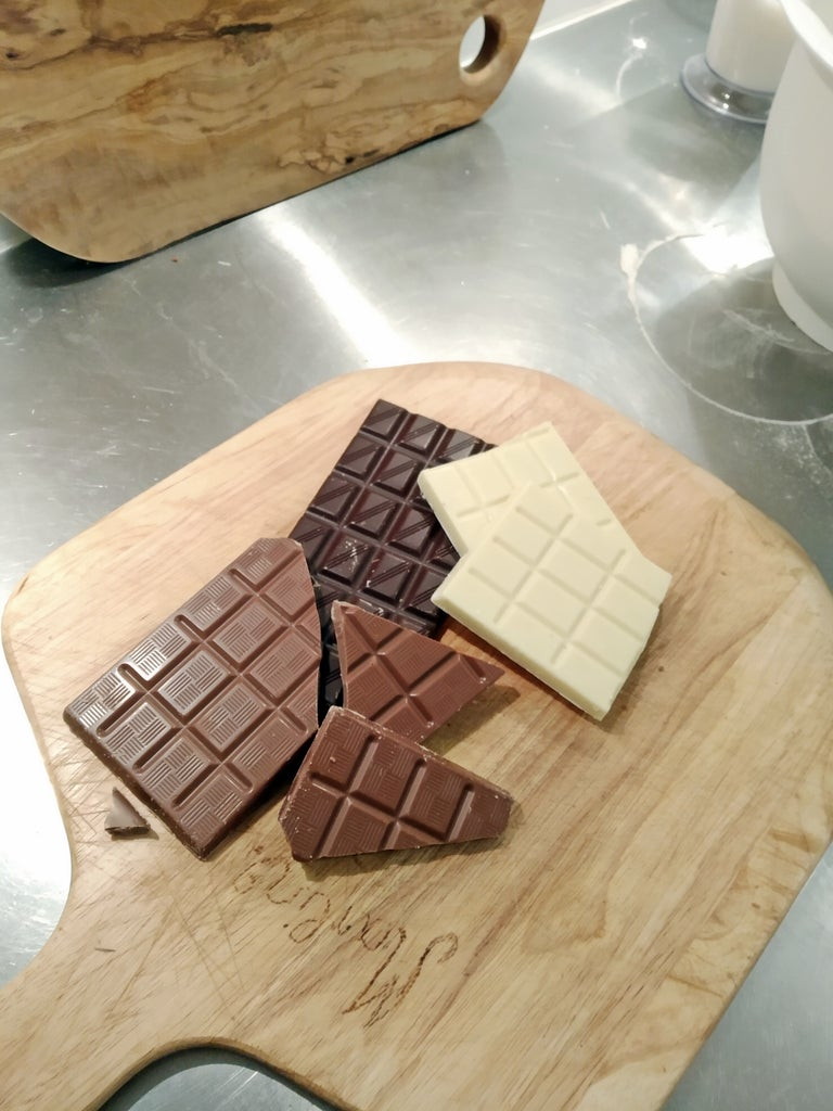 Preparing the Chocolate