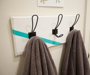 简单的DIY毛巾衣架