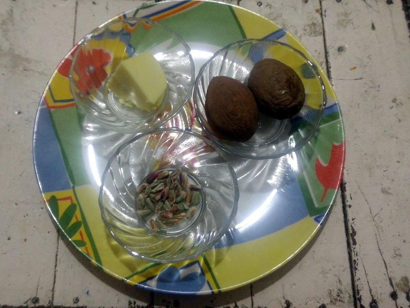 How to Make Chikoo Burfi