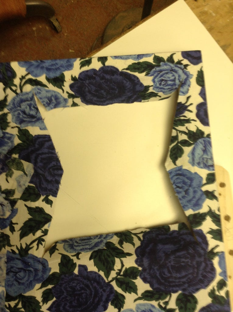 Cut and Glue the Window Panes
