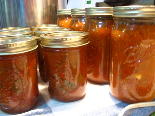 Canning Tomatoes:  Roasted Salsa