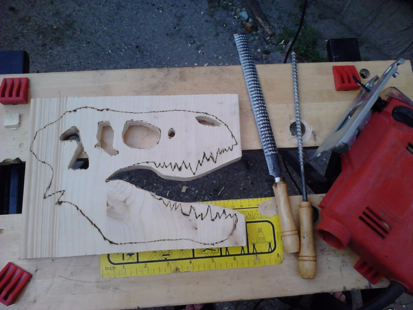 Cutting,drilling,filing,grinding...