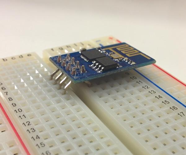 Making ESP8266-01 Module Breadboard Friendly