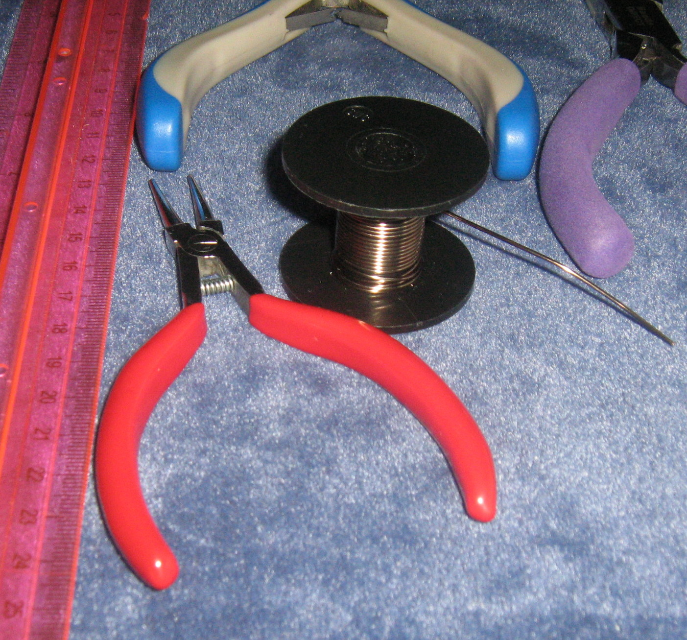 Handmade wire necklace