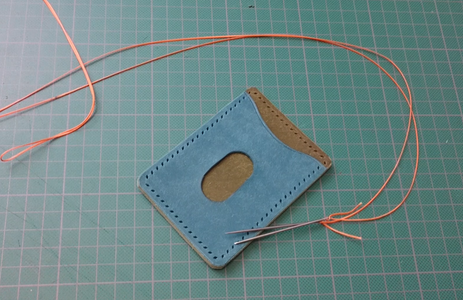The Relaxing Part, Stitching.