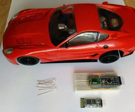 RC Car Hack - Bluetooth Controlled Via Android App