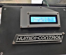 Humidity and Temperature Control System for Terrarium
